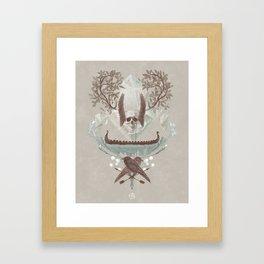 Ghosts of Scandinavia. Iceland. Framed Art Print