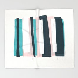 stripes 01 Throw Blanket