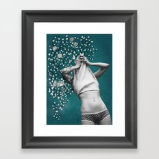 Mindblown. (chameleon) Framed Art Print