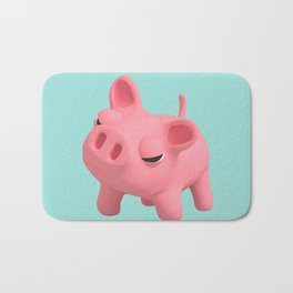 Rosa the Pig Angry Bath Mat