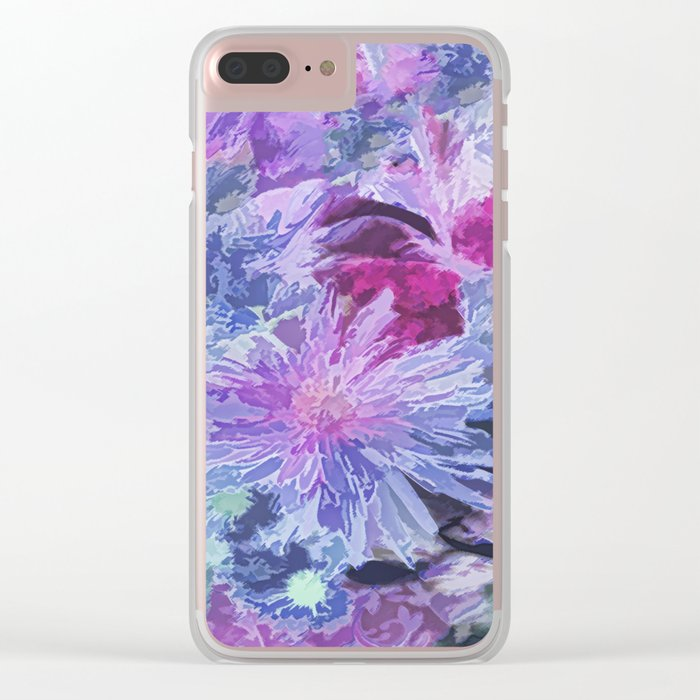 Bouquet Clear iPhone Case