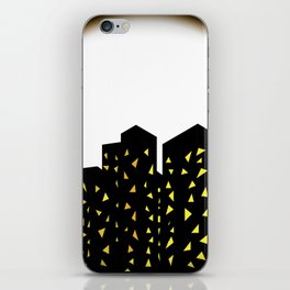 city people dont turn out their lights iPhone Skin