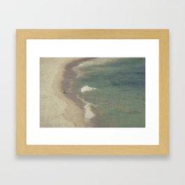 Lone Rider Framed Art Print