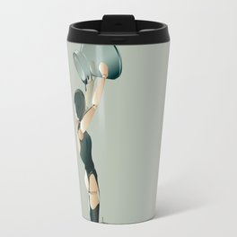 PAINTED BLACK Travel Mug