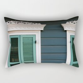 New Orleans Creole Cottage Rectangular Pillow