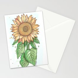 Cheerful Sunflower Stationery Cards