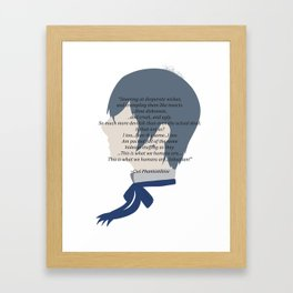 Ciel Phantomhive Quote Framed Art Print