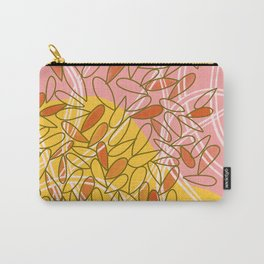 Tennis Leaves Carry-All Pouch