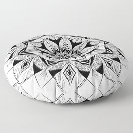 """Flower"" mandala Floor Pillow"