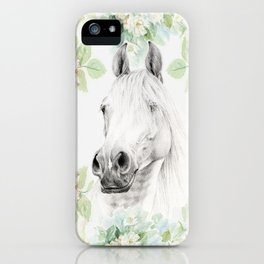 SPRING HORSE iPhone Case