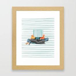 Bedtime Storied Framed Art Print