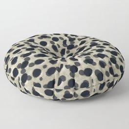 Metallic Camouflage Floor Pillow