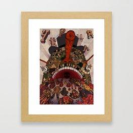 swallow frogs Framed Art Print