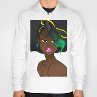 80s Hoodies featuring The 80s by RM2 Designs