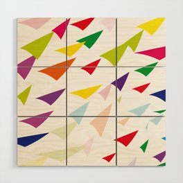 colored arrows Wood Wall Art