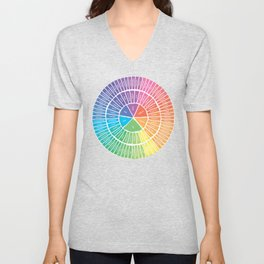 Emotion Wheel Unisex V-Neck