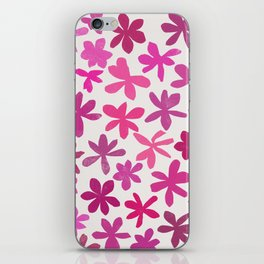 wildflowers 2 iPhone Skin