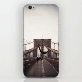 Afternoon in Brooklyn iPhone Skin