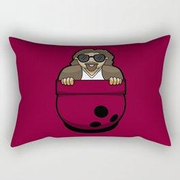 Pocket Dude (01) Rectangular Pillow