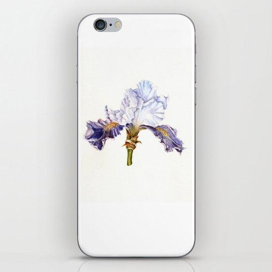 Purple Iris iPhone & iPod Skin