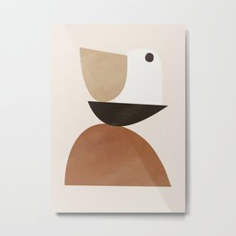 Abstract Shapes 63 Metal Print