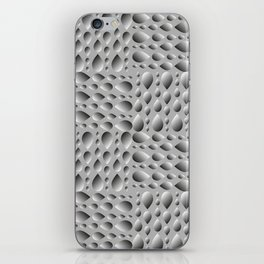 Gray volumetric drops on a rainy background. Flat design of water and drops for paper. iPhone Skin