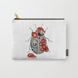 Siege of ladybugs Carry-All Pouch
