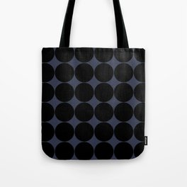 Circular Minimalism - Midnight Tote Bag