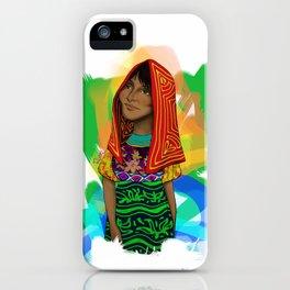 Ustup - kuna/guna girl iPhone Case