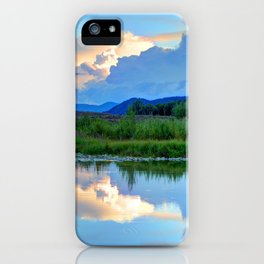 Snake River Reflection - Grand Teton National Park - Wyoming iPhone Case