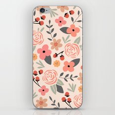 FLOWER FEST iPhone & iPod Skin