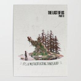 Ellie's birthday - The Last of Us Part II - Fan art Poster
