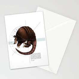Armadillo Stationery Cards