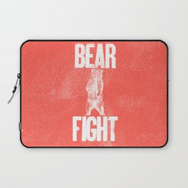 Bear Fight Laptop Sleeve