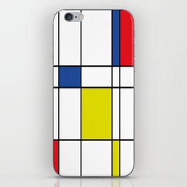 Mondrian 1 iPhone Skin