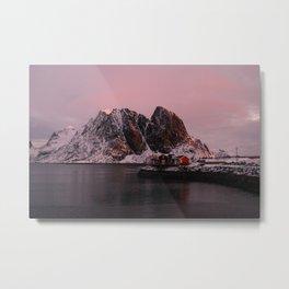 Sunrise in Lofoten Metal Print