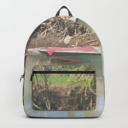 I will be right here waiting for you Backpack