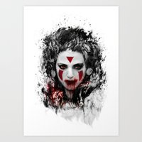 princess mononoke Art Prints featuring princess mononoke by ururuty