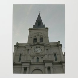 St. Louis Cathedral - New Orleans, LA Poster