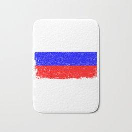 RUSSIA FLAG Retro Vintage Gift For Russian Flag Bath Mat