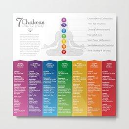 Seven Chakra Poster #44 Metal Print