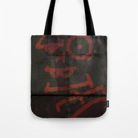 zombies Tote Bags featuring Zombies by Chawalit Jitsanorh