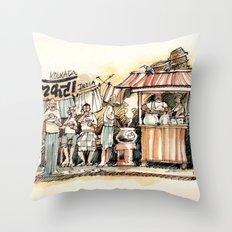 Kolkata Series 2 Throw Pillow