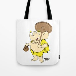 Hindu Elephant God - Ganesha Tote Bag