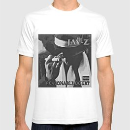 Steve On The Beach #Society6 Reasonable Doubt Album Cover Jay-Z T-shirt