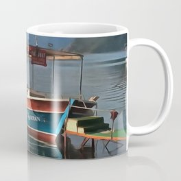Sultan Taxi Boat Marmaris Coffee Mug