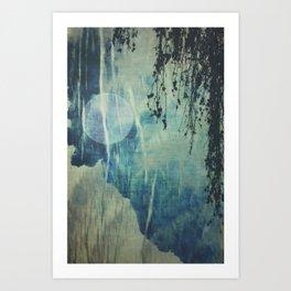 dreaming under the birch Art Print