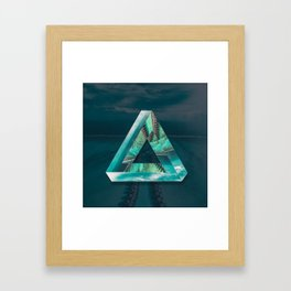 The Bermuda Triangle Framed Art Print