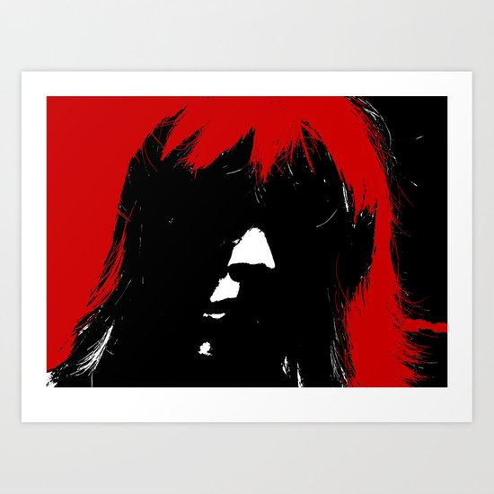 What's In A Face! 2 Art Print
