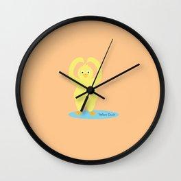 Lucky Duck Wall Clock